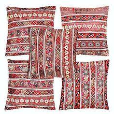 5 Pcs Lace Patchwork Cushion Cover 16 X 16 Applique Throw Home Decor