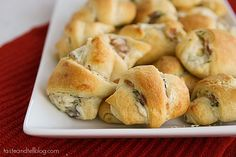 An easy appetizer recipe- crescent rolls are filled with a cream cheese and bacon mixture and then baked. Photo Updated December 2012 I didn't think that I'd have time for another post in 2007, but I just wanted to take the chance to wish everyone a safe and happy new year. I'm so excited for...