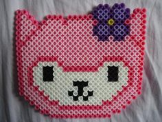 Pink Arpakasso Alpaca by PerlerHime - Kandi Photos on Kandi Patterns