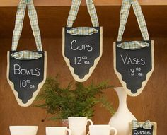 Price Sign Display Ideas For Craft Shows | Craft Maker Pro ...