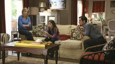 Dunphy Great Room :: Modern Family. Also love the couch. Can I buy this house, please!?