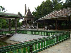 Este templo budista es muy respetuoso con la naturaleza