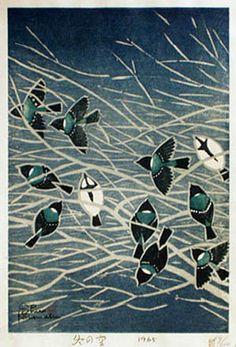Shiro Kasamatsu (Japanese, 1898-1991). Sky in Winter. 1965.