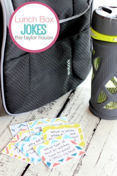 Back to School Lunch Box Jokes {Printable}