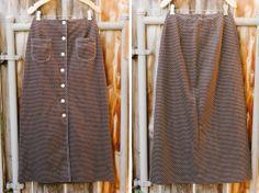 Vintage 1960's Brown Polka Dot Maxi Skirt  https://www.etsy.com/listing/168775772/free-shipping-vintage-1960s-brown-polka?ref=shop_home_active