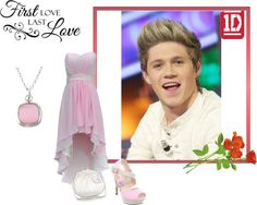 """""""I love niall"""" by monkey-anne ❤ liked on Polyvore"""