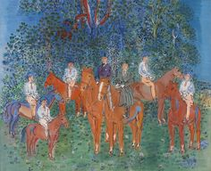 Epsom Raoul Dufy Horse Paintings | designs for free super saver shipping on dufys paintings during