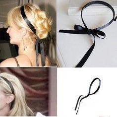 Fashion New for Fashion Women Trendy Black Headband Hair Band Pairs Hilton | eBay