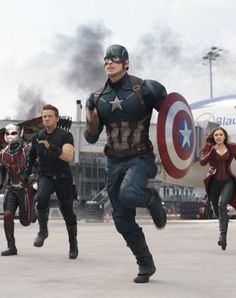 Captain America: Civil War (Capitanul America: Razboi Civil) - Elle.ro