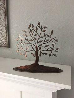 Beautiful Metal Tree Art Tree Statue Home Decor