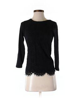 jcrew lace top - $21