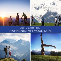 #GWS2016 will feature an afternoon of Wellness atop Hahnenkamm Mountain