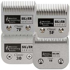 Master Grooming Tools ZW59800 4 Count Silver Series Blade Kit *** More info could be found at the image url. (This is an affiliate link and I receive a commission for the sales) #MyDog