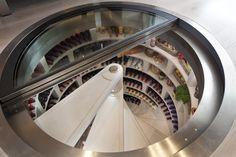 Absolutely love this underground wine cellar! Someday (: