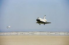 #OnThisDay in 1981, @NASA's Space Shuttle Columbia comes home to #Earth after completing its first orbital mission.
