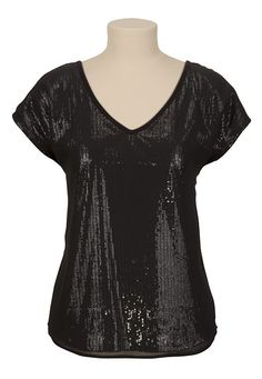 Dolman Sleeve V-Neck Tee available at #Maurices