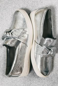 5939ef5a8d Dreamy silver slip-ons 😍 Must Haves