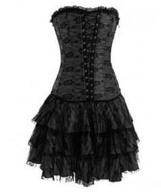 b3dae8f3a350 Amazon.com: Skelapparel Gothic Rockabilly Purple Satin Corset Lace-up  Dress: Clothing | My Style | Pinterest | Purple satin, Gothic and Rockabilly