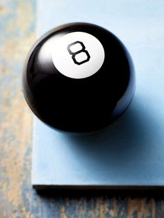 Lucky 8 Ball - I consulted this thing like the ancient Greeks consulted the Oracle. #HOFLuckyCharms