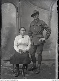 Lost Diggers. From the Thuillier collection of 800 glass plate negatives. Taken by Louis and Antoinette Thuillier in Vignacourt, France during the period 1916 to 1918. Australian War Memorial