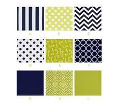 navy and lime green nursery - Google Search