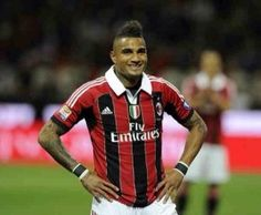 Kevin Prince Boateng Sent Off As Ac Milan Slump To Another Defeat
