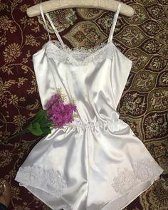 Satin jumper for a beautiful bride