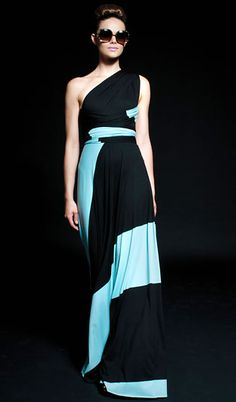 LIMITED EDITION : Jersey Wrap Gown : Butter By Nadia