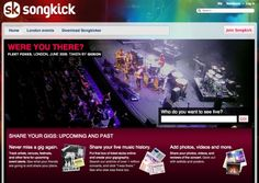 quadrupled my gig-going by signing up to Songkick #ChannelLift