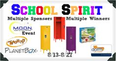 Bloggers sign ups open - School Spirit M.O.O.N. Event