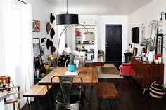 Modern Bohemian Home With Black and White Decor | POPSUGAR Home
