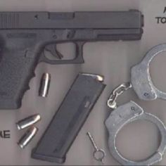Glock 22 is the main service pistol of our police and other emergency services.