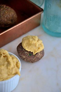 Baked Almond Mushroom Falafel Balls (Vegan, Paleo, Gluten-Free, Soy-Free) - Gluten Free Recipes - The Healthy Apple Falafel Recipe, Anti Inflammatory Recipes, Frozen Meals, Snack Recipes, Healthy Recipes, Crockpot Recipes, Vegetarian Recipes, Healthy Baking, Gluten Free Recipes