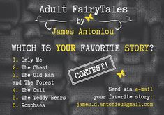James Antoniou Official: CONTEST: WIN THE UPCOMING BOOK!