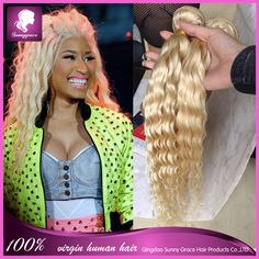 Find More Human Hair Extensions Information about Peruvian kinky curly virgin hair 613 blonde deep curly hair 613 Blonde Virgin Hair honey blonde hair,High Quality hair cure,China hair pot Suppliers, Cheap hair extensions and wigs from Sunny Grace Hair Product Company on Aliexpress.com