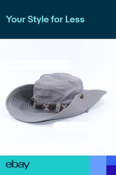 7e4daf06440 Outdoor Boonie Hats Sun Fishing Hat Men Women Wide Brim Summer Cap Bucket  Hat . eBay