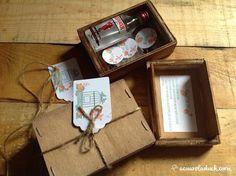 Detalles de una boda: Regalo invitados. Detalle invitados. Kit Gin Tonic.