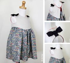L'ePattern Madeline Dress, tailles 2-6 ans
