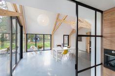 A 50's Farmhouse Renovation and Extension by Bureau Fraai