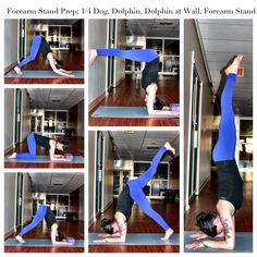 Yoga Pose Weekly » Upload to winRock Your Forearm Stand! » Yoga Pose Weekly