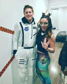 Astronaut & Alien Halloween Couples Costume