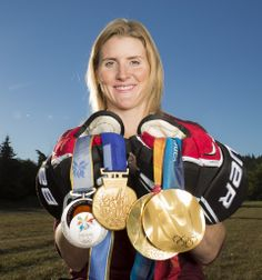 Hayley Wickenheiser by Dave Holland Photography - And her 4th gold this year in Sochi