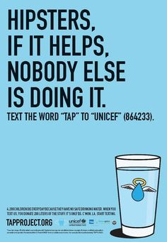 pub hipster Unicef