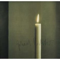 Gerhard Richter, Kirschbaum Laserscan GmbH, Candle I (Kerze I), 1988, offset lithograph on white paper, Dallas Museum of Art, Dallas Museum of Art League Fund, Roberta Coke Camp Fund, General Acquisitions Fund, DMA/amfAR Benefit Auction Fund, and the Contemporary Art Fund: Gift of Mr. and Mrs. Vernon E. Faulconer, Mr. and Mrs. Bryant M. Hanley, Jr., Marguerite and Robert K. Hoffman, Howard E. Rachofsky, Deedie and Rusty Rose, Gayle and Paul Stoffel, and two anonymous donors