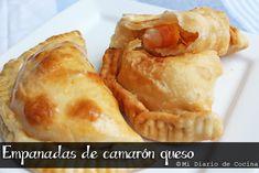 Mi Diario de Cocina | Empanadas de camarón queso | http://www.midiariodecocina.com/