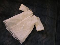 I've found several burial gown patterns online – most were several months ago and I can't find the links now or I'd post them.  The first one I used has loose, medium-length…