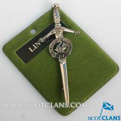 Lindsay Clan Crest Kilt Pin