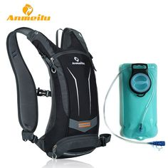 Cheap bag waterproof, Buy Quality hiking bag directly from China outdoor bag Suppliers: ANMEILU Men Women Outdoor Sports Water Bag Waterproof Cycling Bicycle Bike Backpack Climbing Camping Hiking Hydration Bag Cycling Backpack, Rucksack Backpack, Hiking Backpack, Travel Backpack, Hiking Bags, Travel Bags, Travel Luggage, Backpack Storage, Bicycle Bag