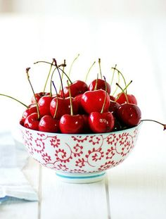 Cherries!  Cherries!  Oh my gosh cherries!  Must have.  Now.  (Wow.  Being pregnant is weird.)