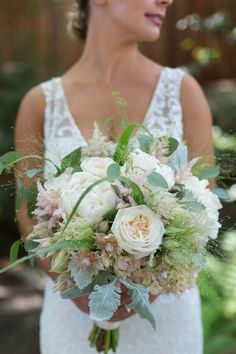 Gorgeous Bridal Bouquet! Looks like wildflowers. Juniper Spring Photography,  San Francisco Bay Area Wedding Photographer